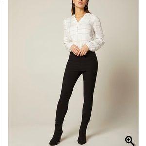 Women's RW&co cropped city legging pant
